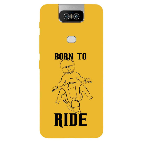 Born Ride Asus 6Z Back Cover-Hamee India