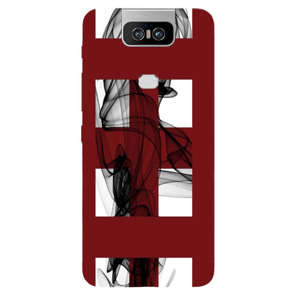 Check Mist Asus 6Z Back Cover-Hamee India