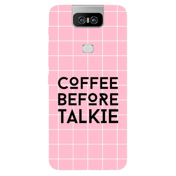 Coffee Talkie Asus 6Z Back Cover-Hamee India