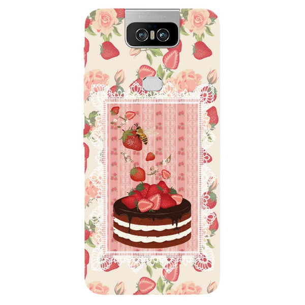 Cake Asus 6Z Back Cover-Hamee India