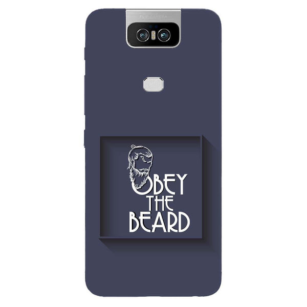 Obey Beard Asus 6Z Back Cover-Hamee India
