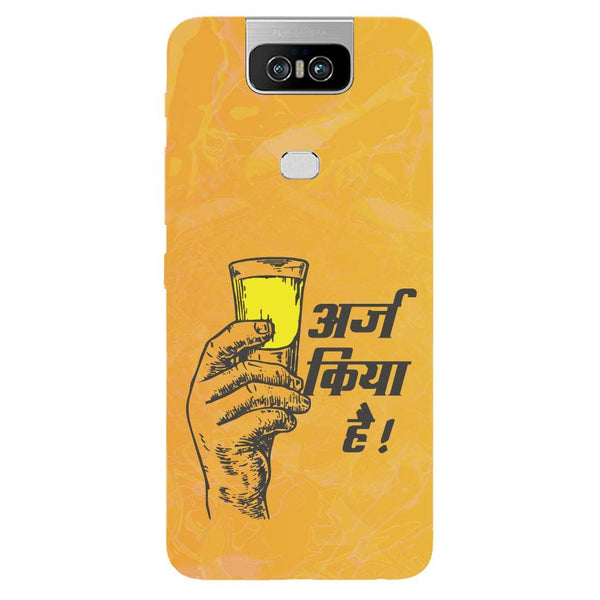 Arz Asus 6Z Back Cover-Hamee India