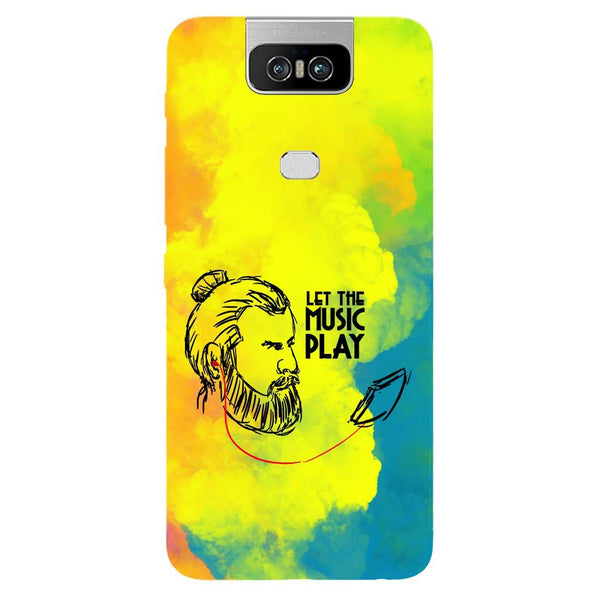 Beard Music Asus 6Z Back Cover-Hamee India