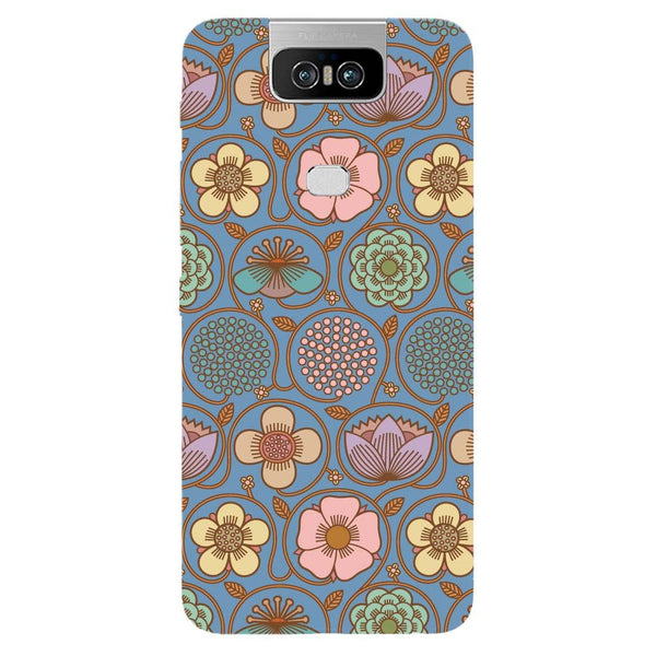 Flowers Asus 6Z Back Cover-Hamee India