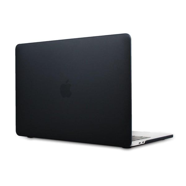 "Hamee Matte Finish Slim Fit Shell Case for Apple Macbook Pro 13"" (Black)-Hamee India"
