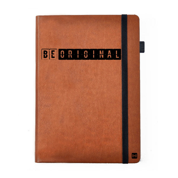 Be Original - Tan Brown Notebook-Hamee India