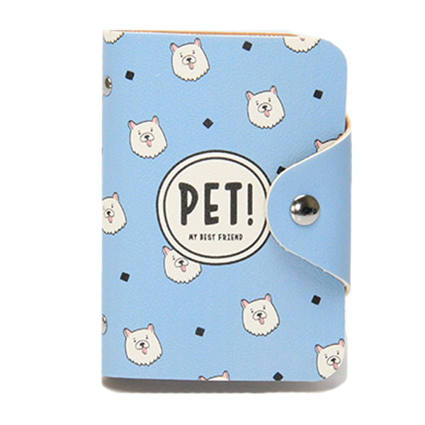 Blue Pet - Flap Card Holder-Hamee India