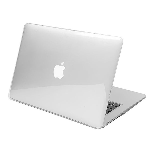 "Hamee Matte Finish Slim Fit Shell Case for Apple Macbook Air 13"" (Clear)-Hamee India"