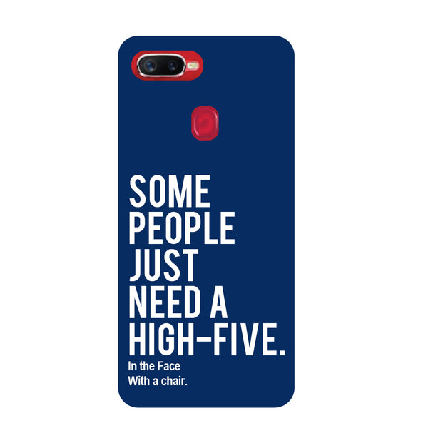 High Five Oppo F9 Pro Back Cover-Hamee India