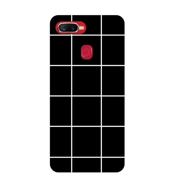 Checks Oppo F9 Pro Back Cover-Hamee India