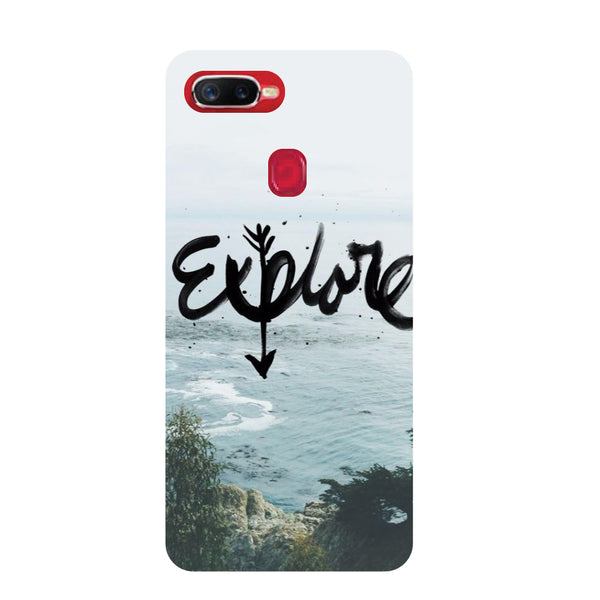 Explore Oppo F9 Pro Back Cover-Hamee India
