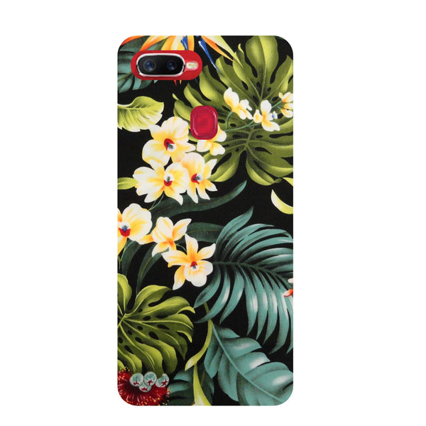 Tropical Bloom Oppo RealMe 2 Pro Back Cover-Hamee India