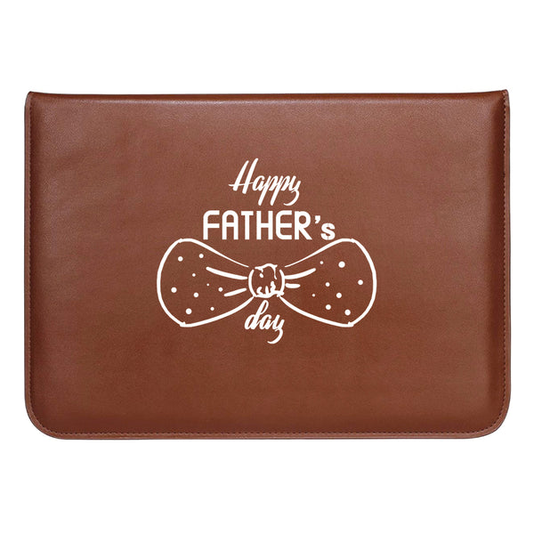 Father's Bow MacBook Sleeve 13.3""