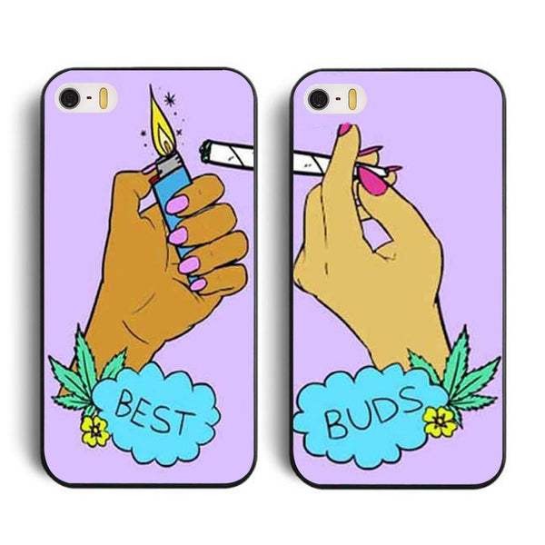 "Hamee Back Cover for Oppo F1s "" Best Buds Special Pack of Two Combo 45 "" - Hamee India"