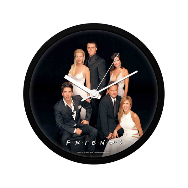 Friends - Black Tie - Wall Clock
