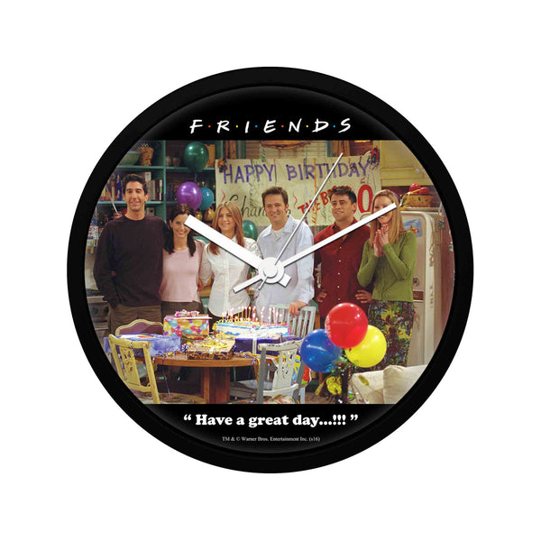 Friends - Happy Birthday Chandler - Wall Clock