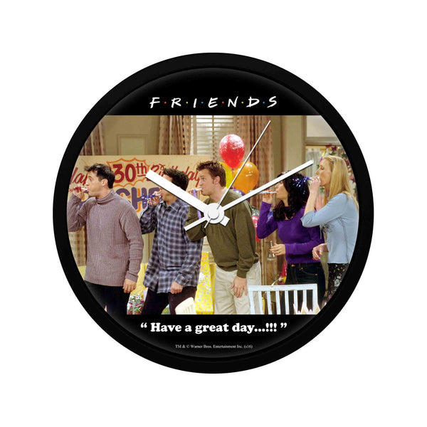 Friends - Happy Birthday Rachel - Wall Clock