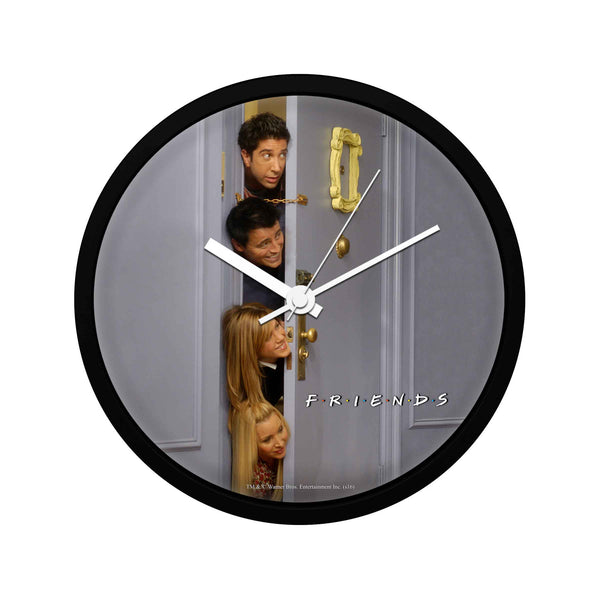Friends - Hiding behind the Door - Wall Clock
