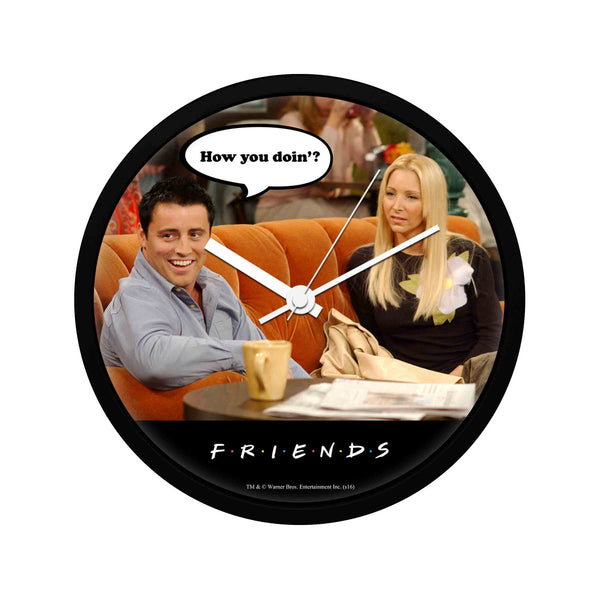 Friends - How You Doin' - Wall Clock