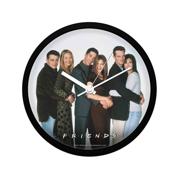 Friends - Hugging - Wall Clock