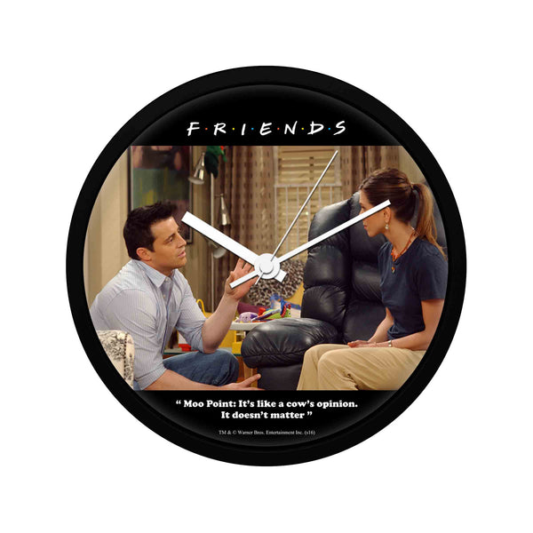 Friends - Moo Point - Wall Clock