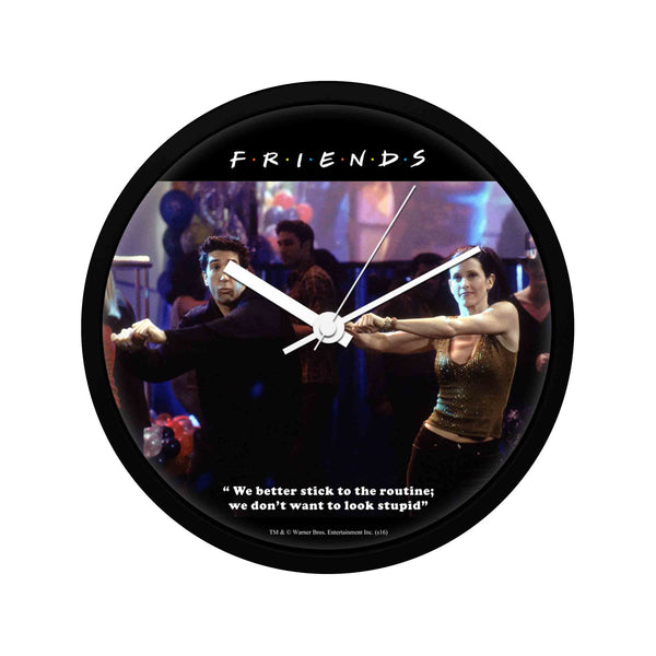 Friends - Routine - Wall Clock