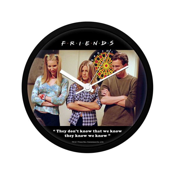 Friends - They know We know - Wall Clock