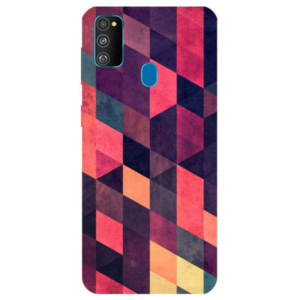 Pink Shades Samsung Galaxy M30s Back Cover