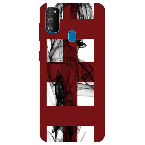 Check Mist Samsung Galaxy M30s Back Cover