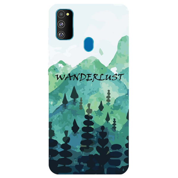 Wanderlust Samsung Galaxy M30s Back Cover