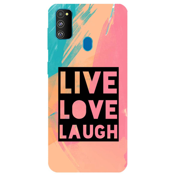 Live Love Samsung Galaxy M30s Back Cover