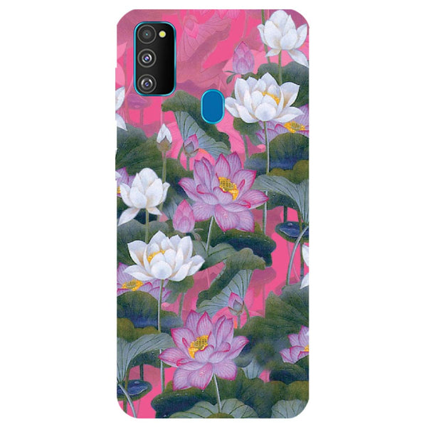 Lotus Valley Samsung Galaxy M30s Back Cover