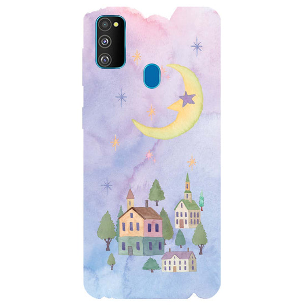 Starry Night Samsung Galaxy M30s Back Cover