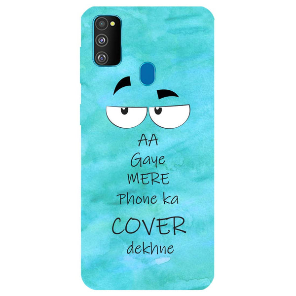 Aa Gaye Samsung Galaxy M30s Back Cover