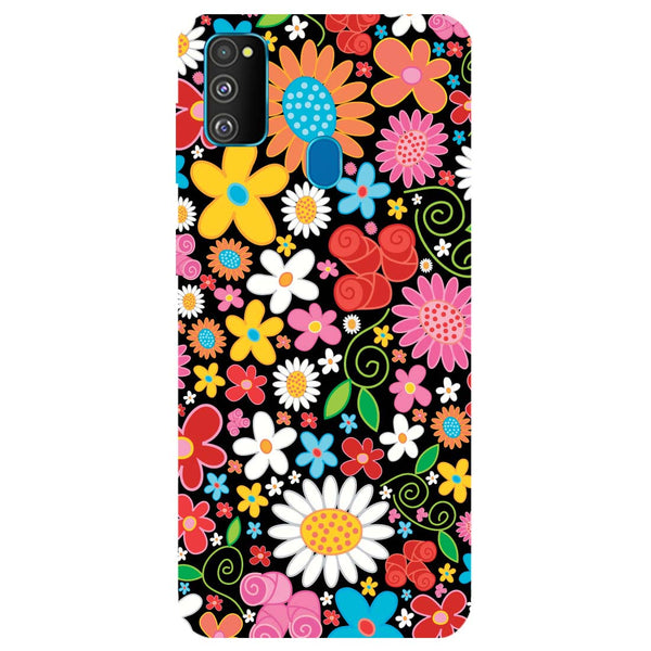 Bloom Samsung Galaxy M30s Back Cover