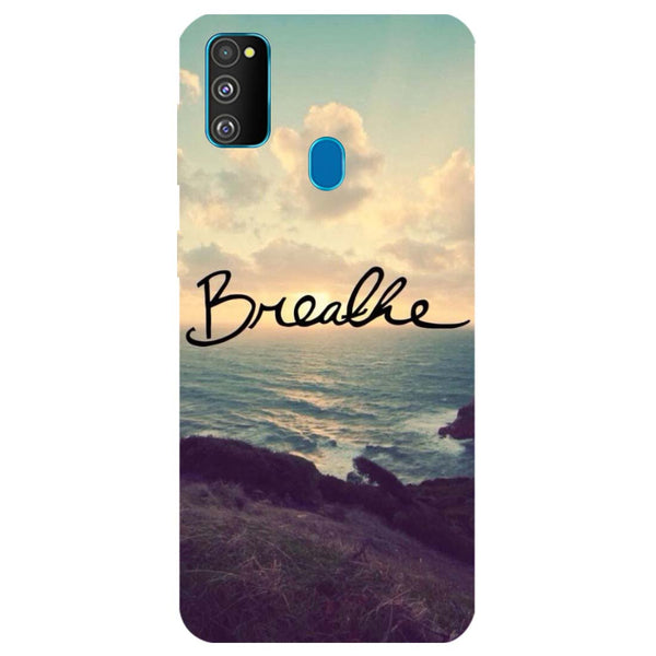 Breathe Samsung Galaxy M30s Back Cover