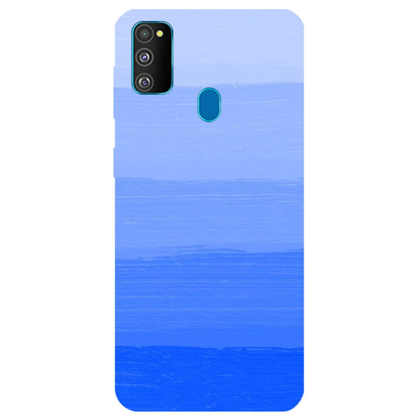 Blue Samsung Galaxy M30s Back Cover