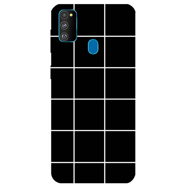 Checks Samsung Galaxy M30s Back Cover