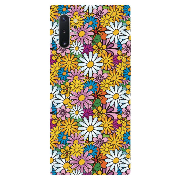 Colourful Flowers Samsung Galaxy Note 10 Back Cover
