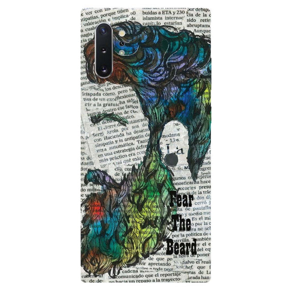 Fear Beard Samsung Galaxy Note 10 Back Cover