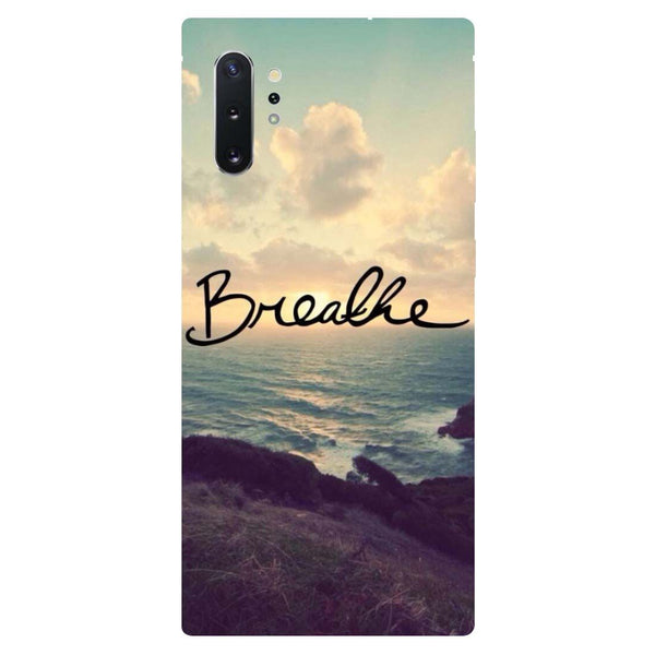 Breathe Samsung Galaxy Note 10 Back Cover