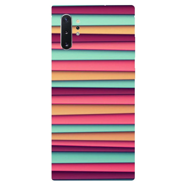 Colourful Stripes Samsung Galaxy Note 10 Back Cover