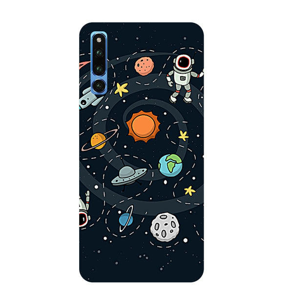 Space Honor Magic 2 Back Cover-Hamee India