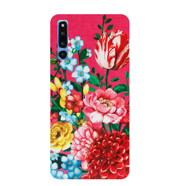 Flower Blush Honor Magic 2 Back Cover-Hamee India