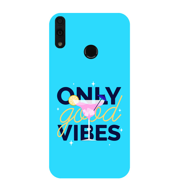 Good Vibes Honor 8C Back Cover-Hamee India