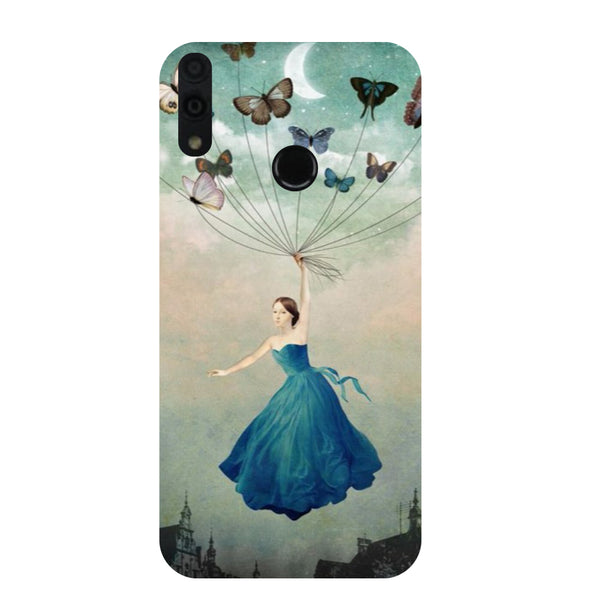 Fly Honor 8C Back Cover-Hamee India