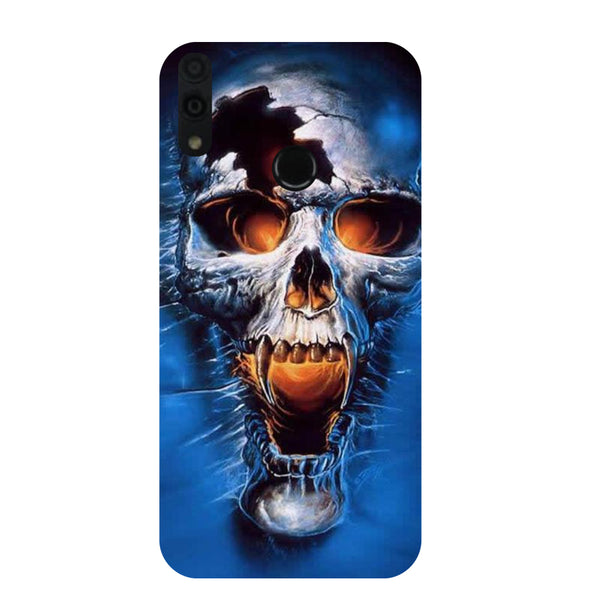 Skull Honor 8C Back Cover-Hamee India
