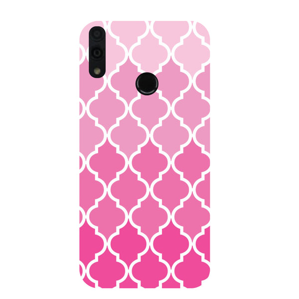 Pinky Honor 8C Back Cover-Hamee India