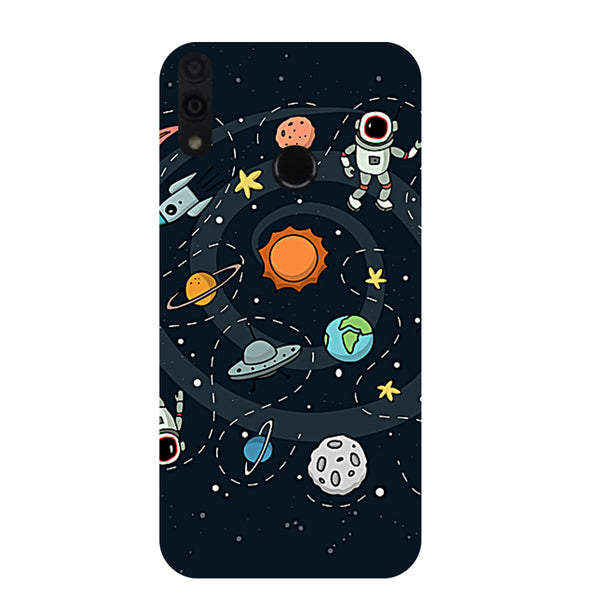 Space Honor 8C Back Cover-Hamee India