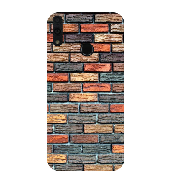 Brick Wall Honor 8C Back Cover-Hamee India
